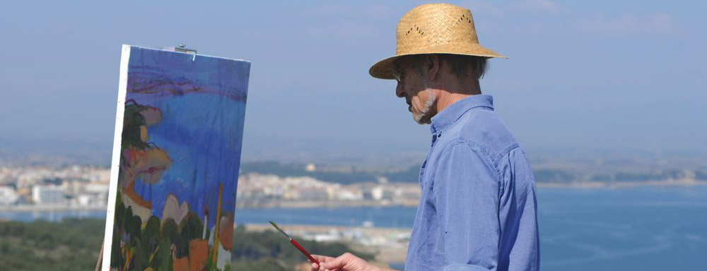 Les peintres ont la c te cap catalogne for Artiste peintre catalan